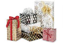 Metallic Christmas Gift Wrap