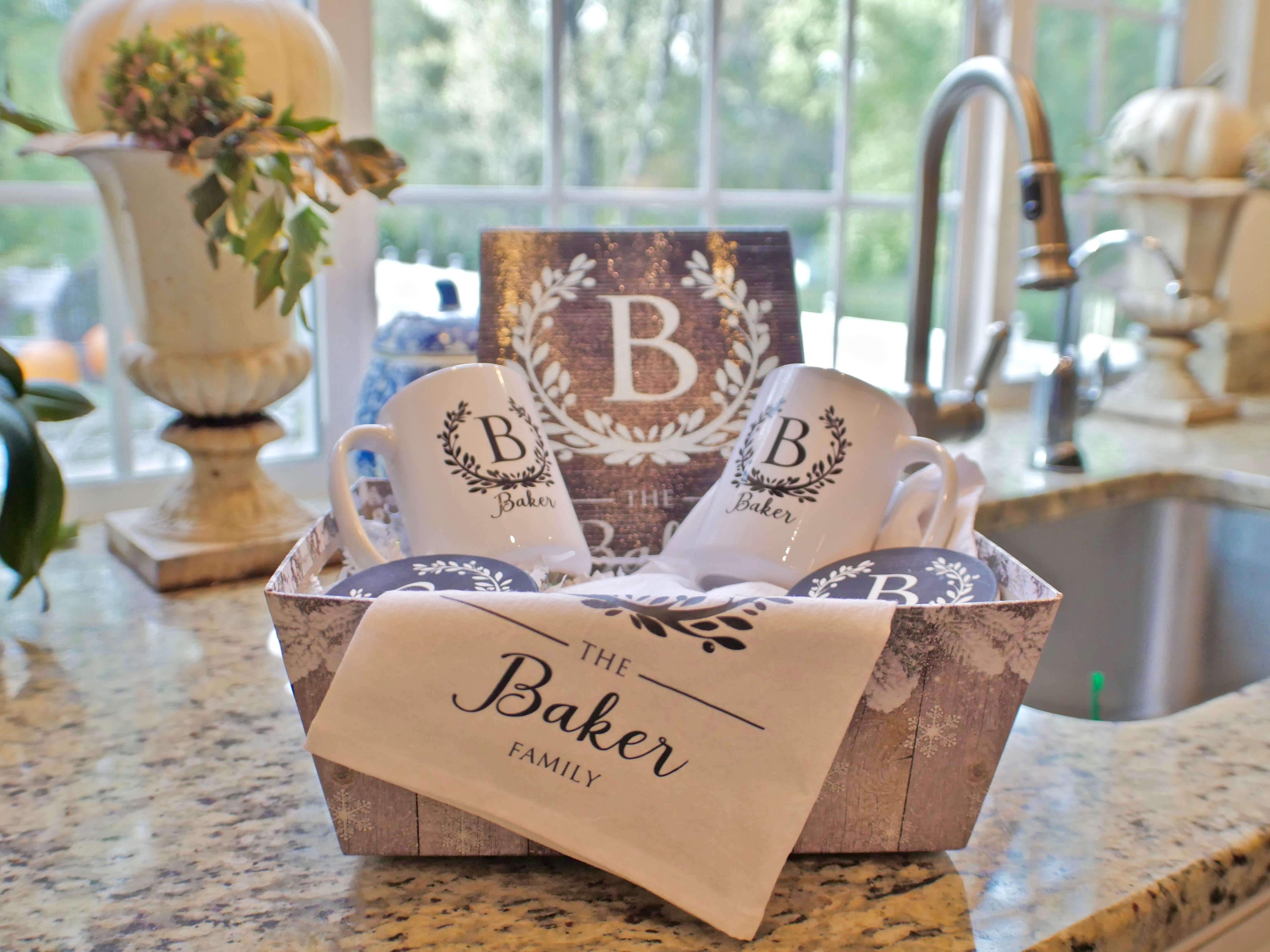 Realtor gift basket by Beloved Belongings