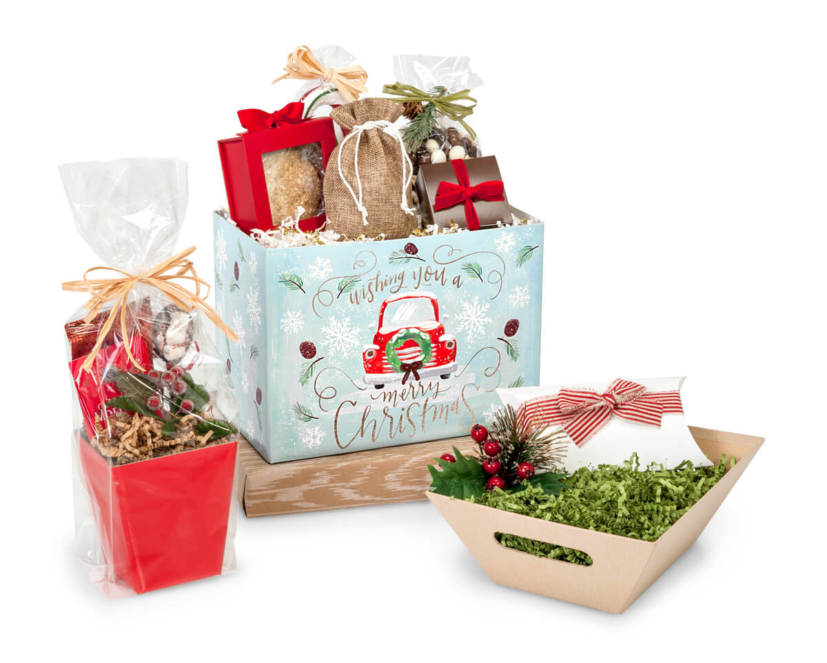 Creative ideas for gift baskets for christmas