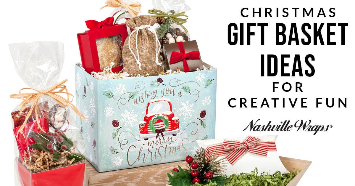 christmas gift basket ideas for creative fun nashville wraps blog