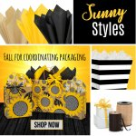 Sunny Sunflower Packaging for Fall
