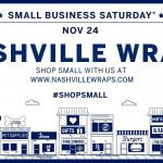 Small Business Saturday with Nashville Wraps!