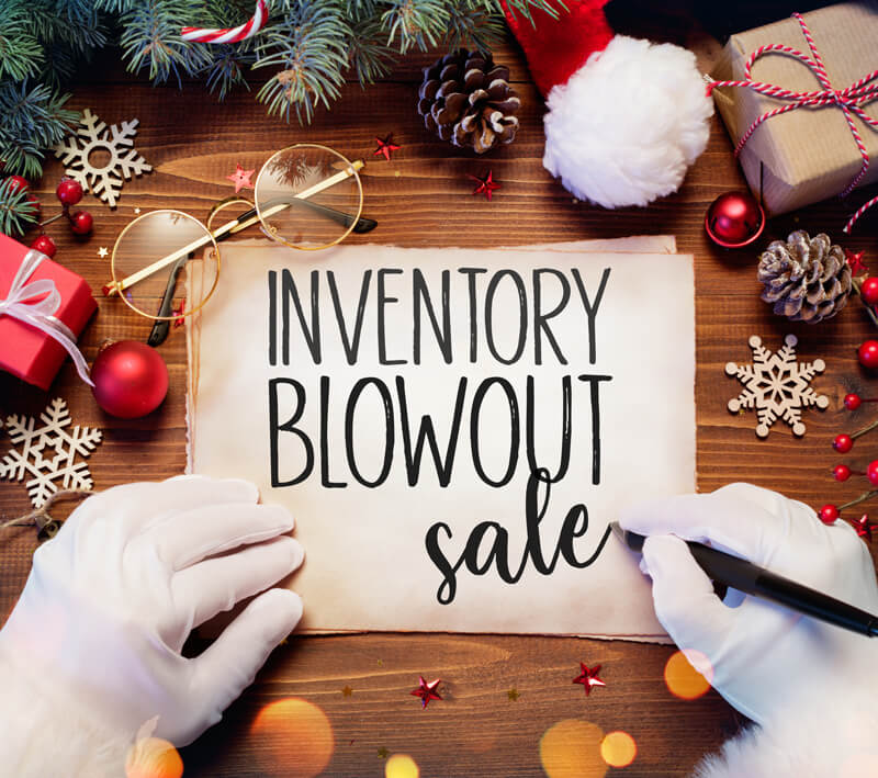 December Inventory Blowout