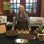 Dr. Sue Williams of Dr. Sue's Chocolate - a good-for-you treat!