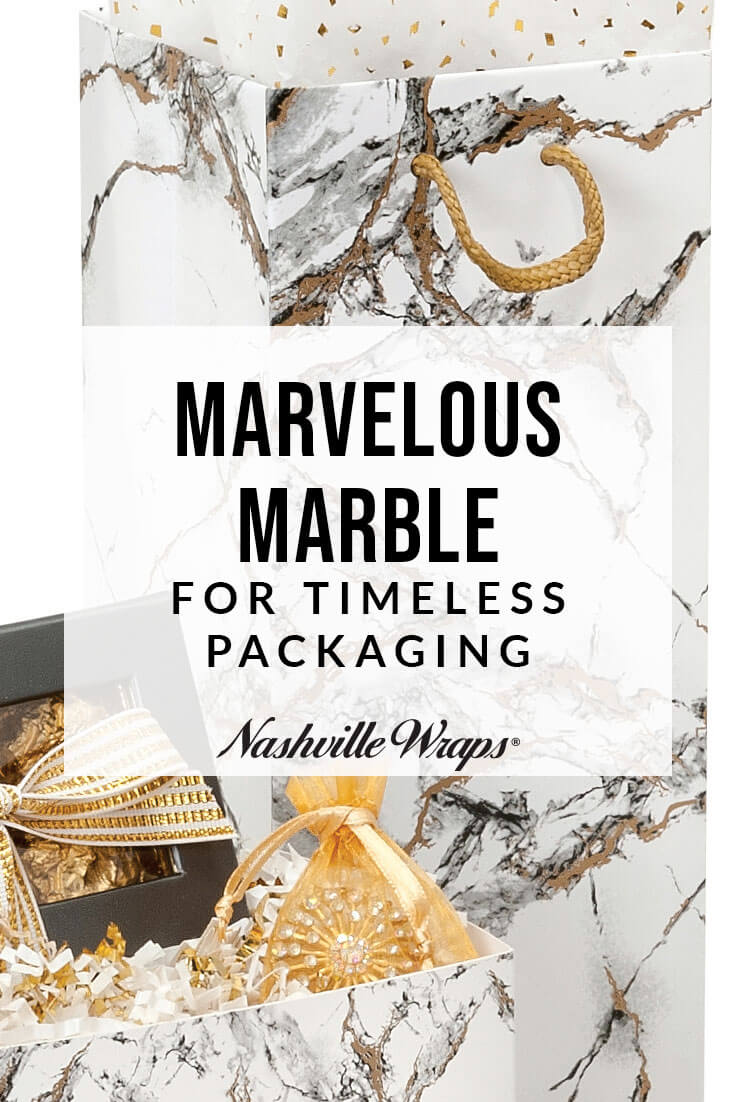 Our Marble Packaging Collection is an elegant way to transition into the new year. On-trend Marble is perfect to liven up the post-holiday season.