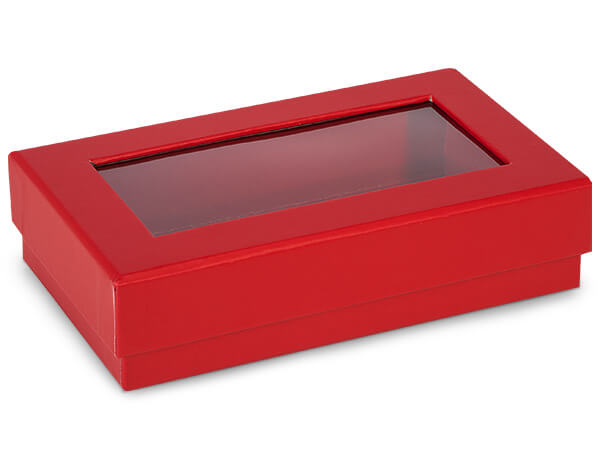 red gourmet rigid window boxes