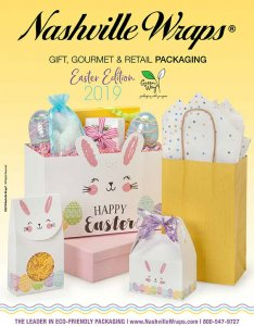 The Nashville Wraps Gift, Gourmet, & Retail Packaging Catalog, Easter Edition 2019