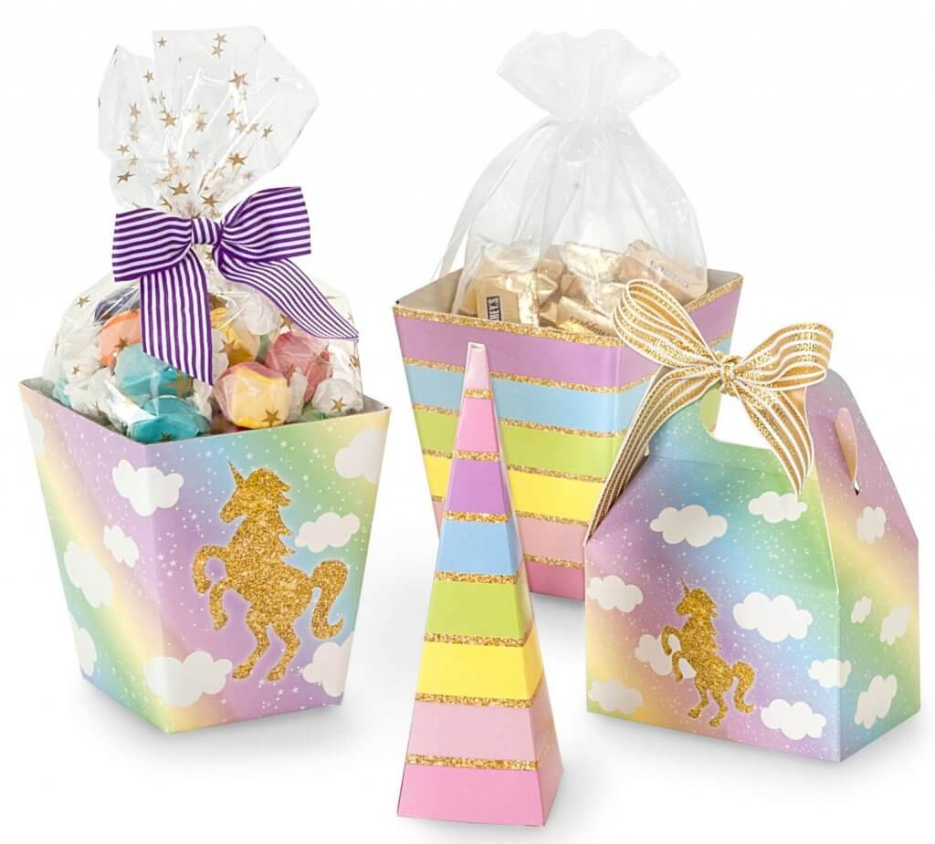 Unicorn Candy Boxes | Nashville Wraps