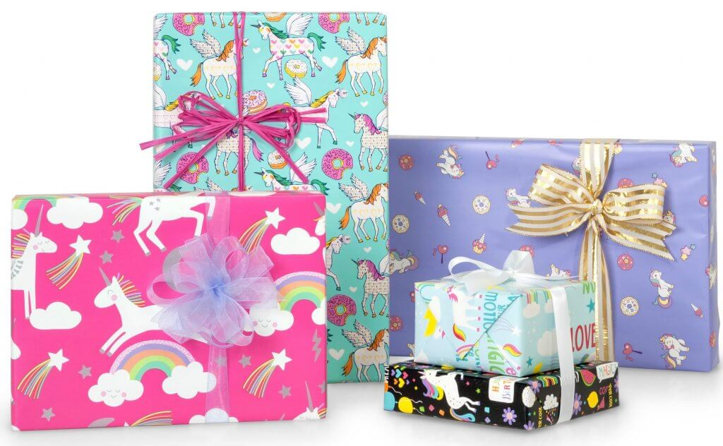 Unicorn Gift Wrapping Paper | Nashville Wraps