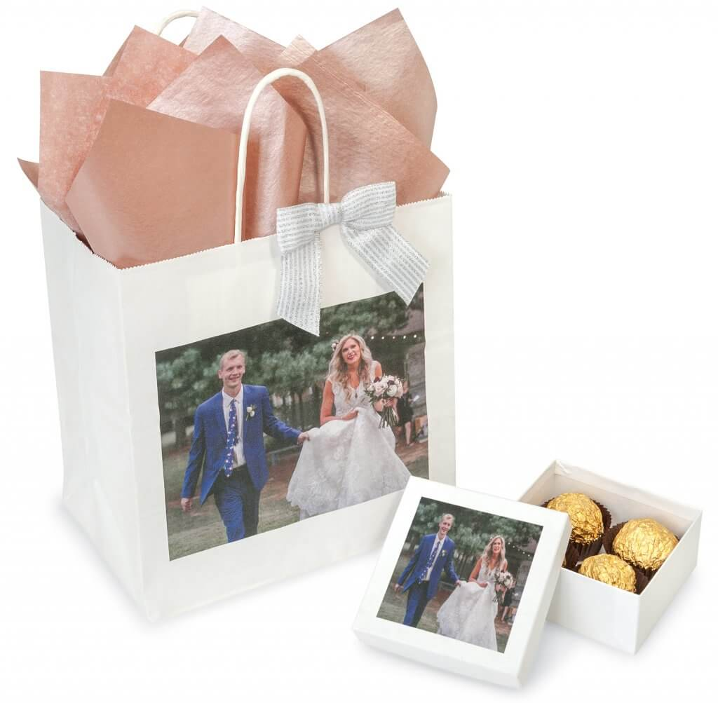 Digital Printing from Nashville Wraps - minimum orders of only 25 perfect for weddings and other events!
