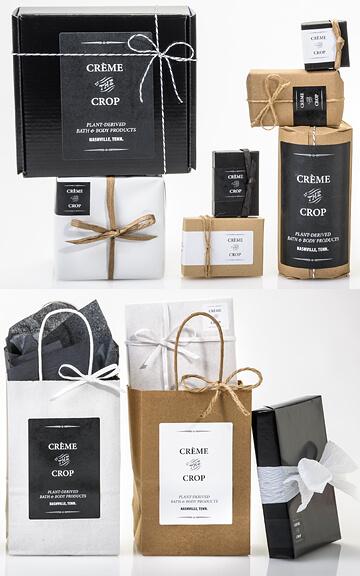 Black, White & Kraft for Minimalist Packaging!