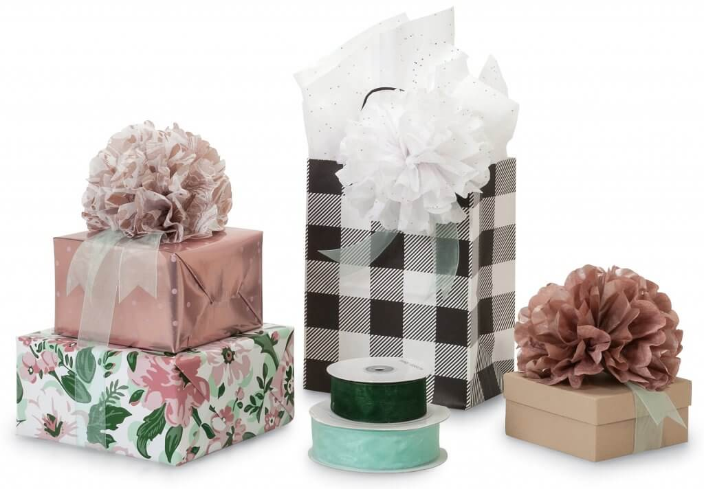 tissue pouf flowers 2