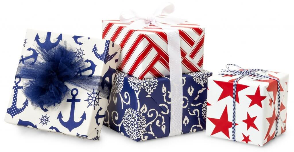 American made gift wrap from Nashville Wraps
