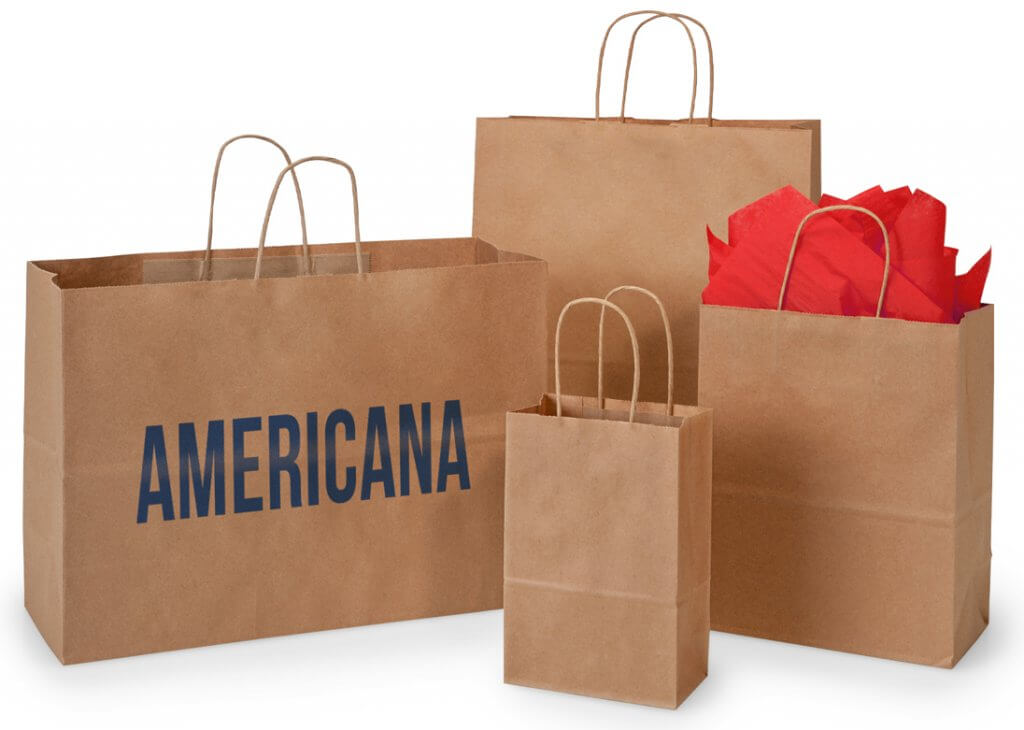 American made kraft bags from Nashville Wraps