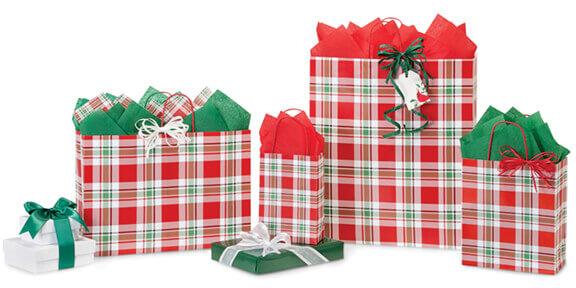 christmas plaid collection