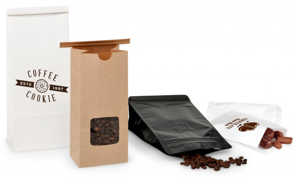 coffee chocolate packaging