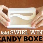 Swirl window candy boxes