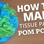 Tissue Pom Earths