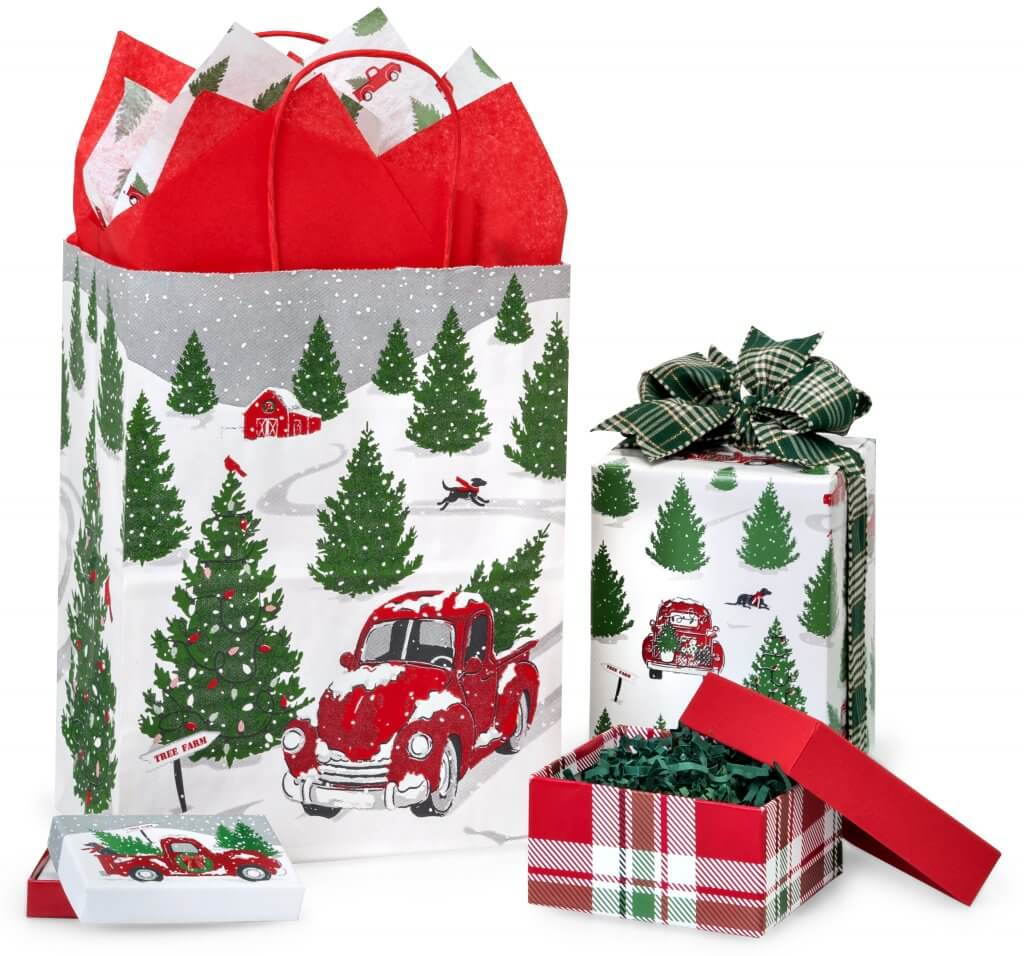 Tree Farm Christmas Truck Christmas Packaging Collection