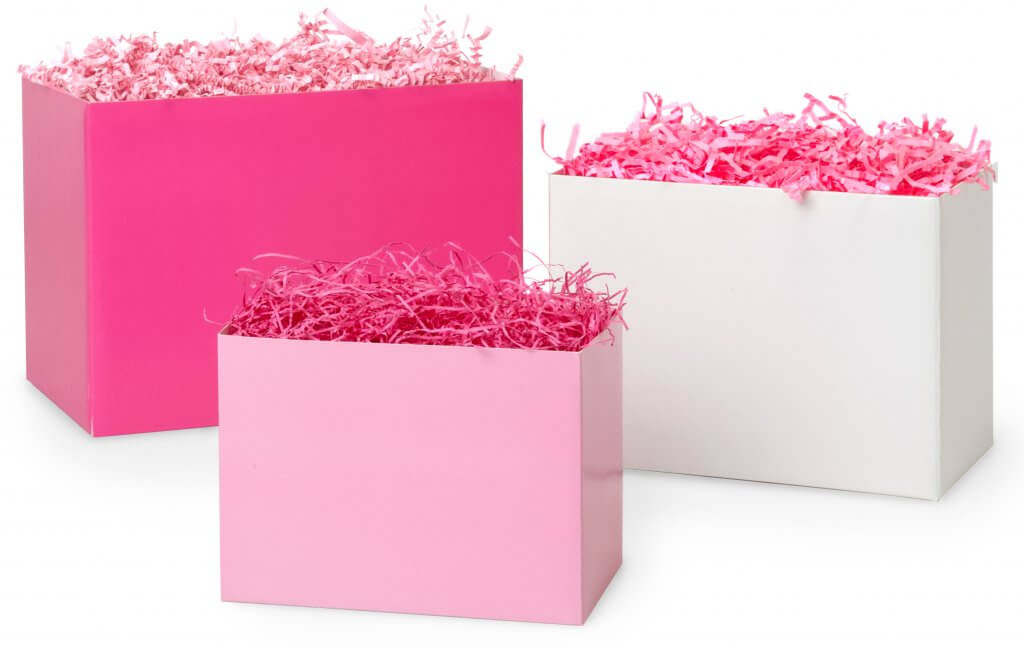 Pink Basket Boxes and Shred from Nashville Wraps
