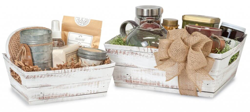 Market Tray Gift Basket Containers