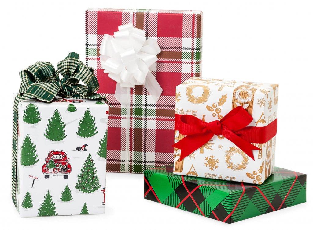 Premium Christmas gift wrap from Nashville Wraps