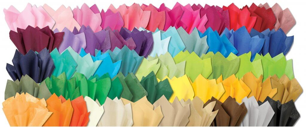 all the tissue colors