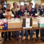 Assistance League of Bellingham soup mix work party2017 volunteers