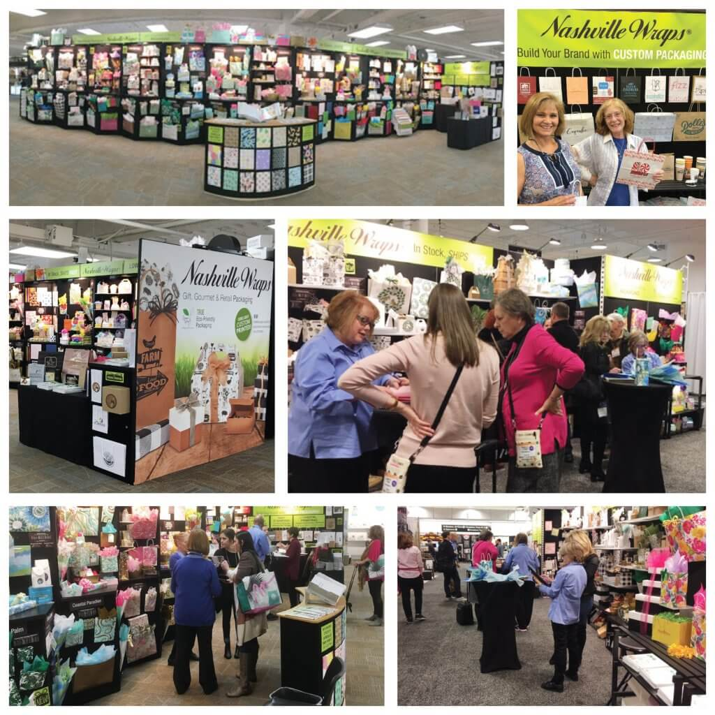trade show collage
