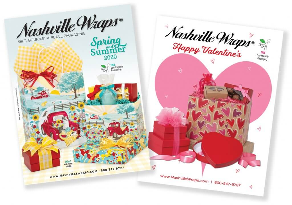 spring 2020 and valentine catalogs