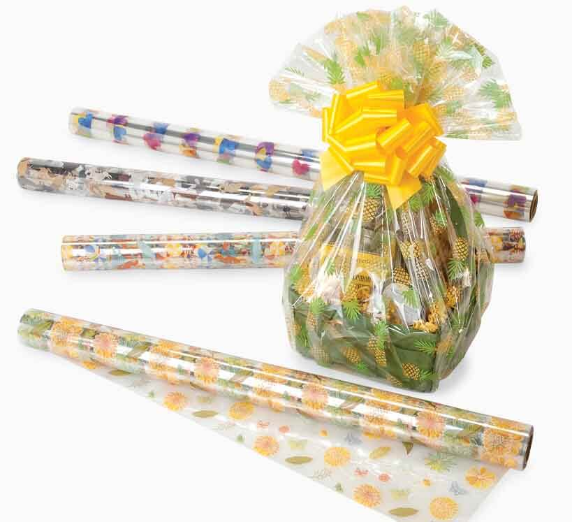 Finish your Gift Basket Presentation with Cello and a Pull Bow