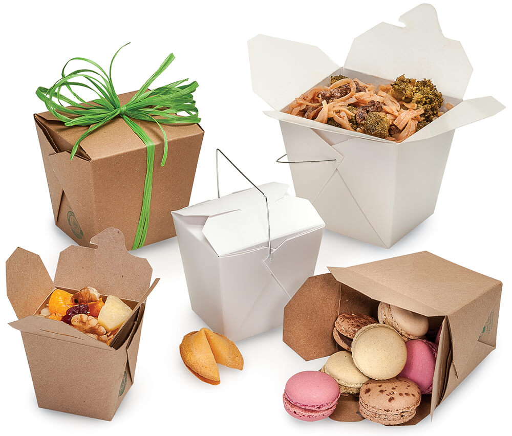 American-made take out boxes - high-quality carry out packaging