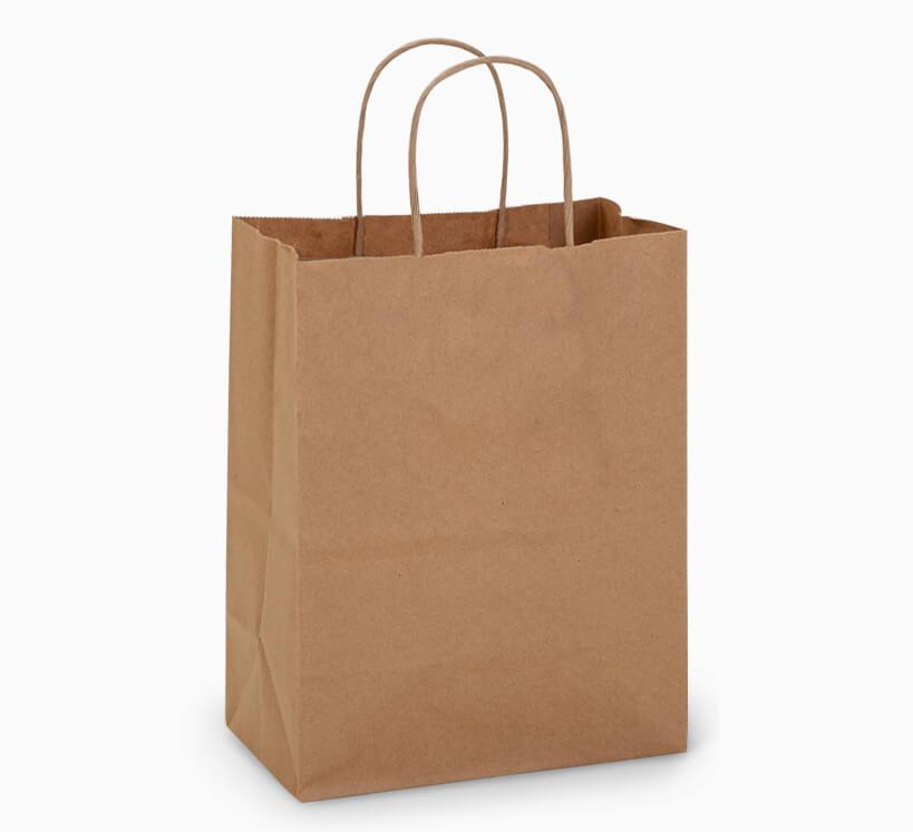 recycled kraft bags