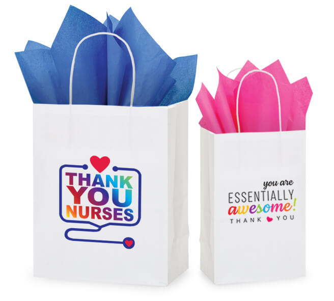 New Gift bags to thank nurses and other essential workers