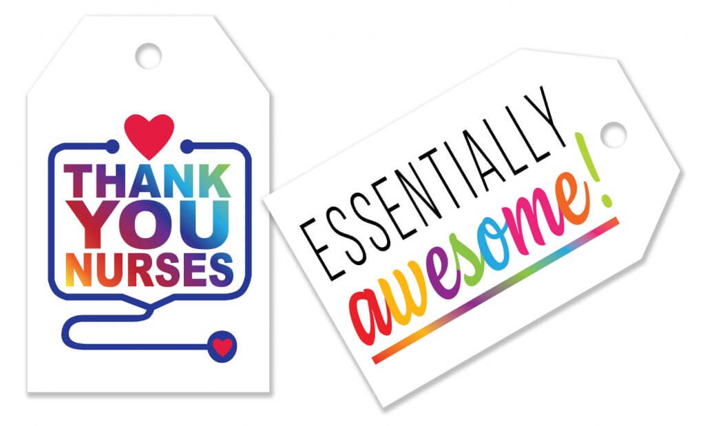 Thank you gift takes for nurses and essential workers