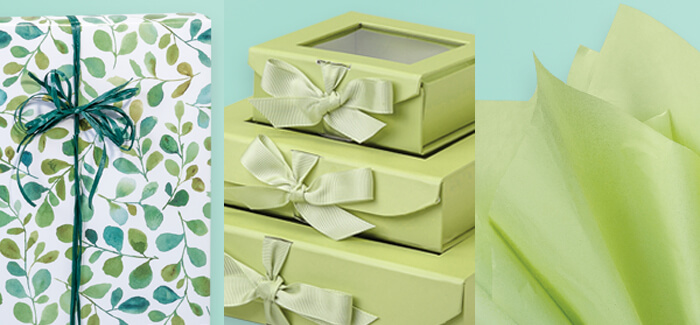 Gorgeous Green packaging for summer from Nashville Wraps