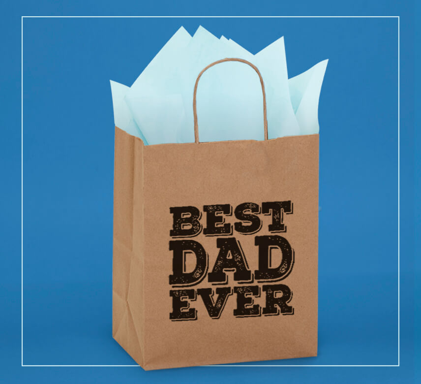 "New ""Best Dad Ever"" shopping bags from Nashville Wraps, just in time for Father's Day!"
