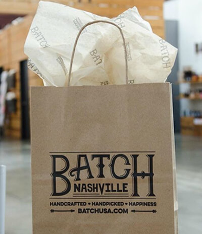 custom printed bags batch
