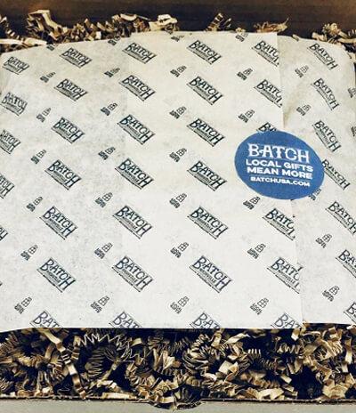 custom printed tissue batch
